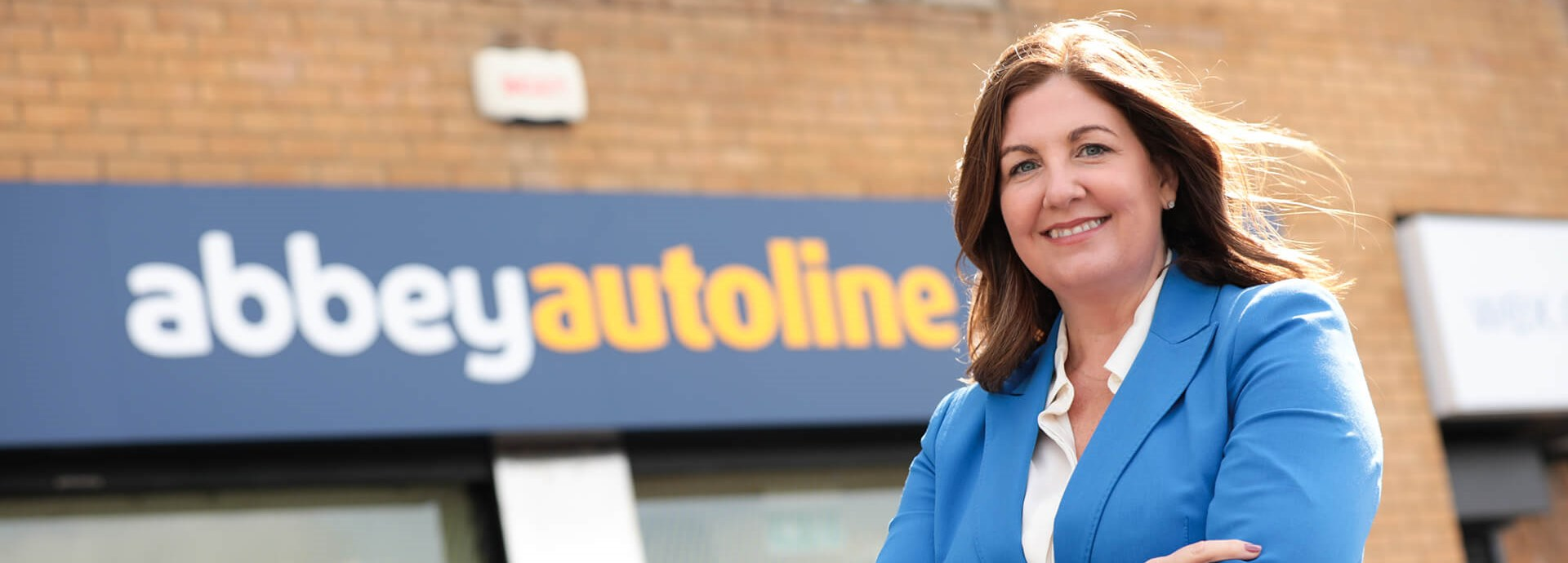 Julie Gibbons, Managing Director outside newly combined broking business, AbbeyAutoline